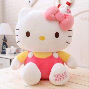 Peluche oreiller poupée de chiffon Hello Kitty fille de Noël